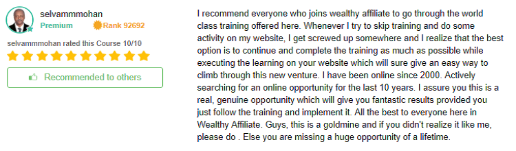 Affiliate Bootcamp review 1