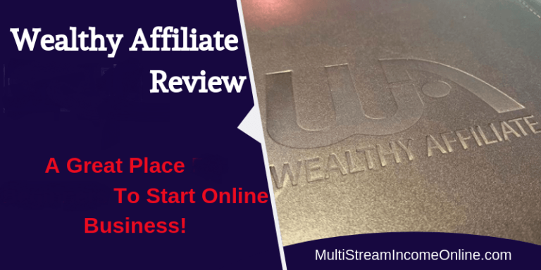 Wealthy Affiliate training program for affiliate marketing