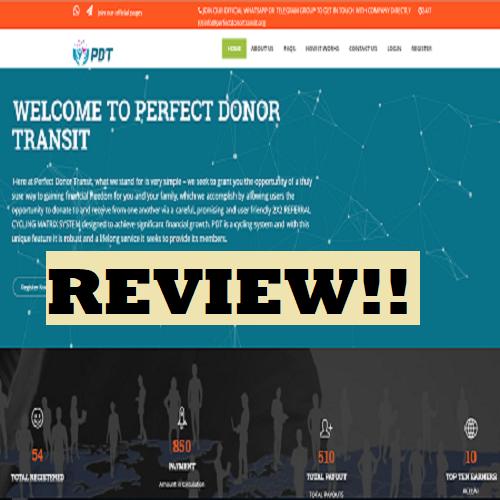 Perfect Donor Transit Review