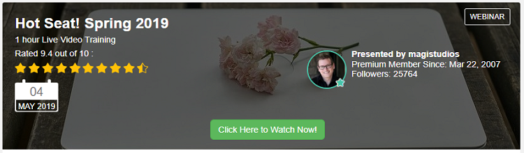 wealthy affililate live training