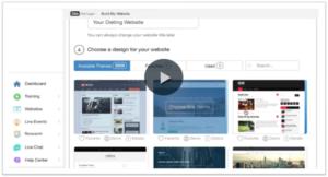 affiliate marketing - create your website