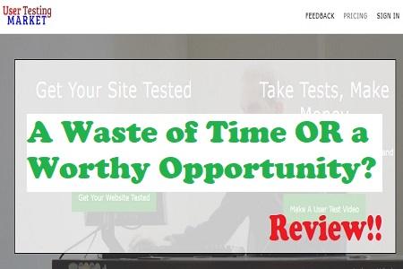 User Testing Market