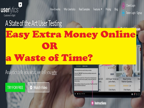 What Is Userlytics About? Earn Up To $90 OR a Scam?