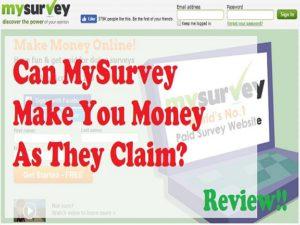 Is MySurvey a Legit Website