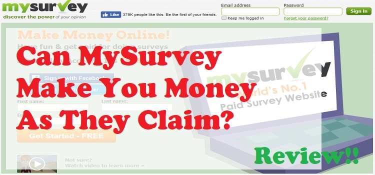 Is MySurvey a Legit Website OR Scam
