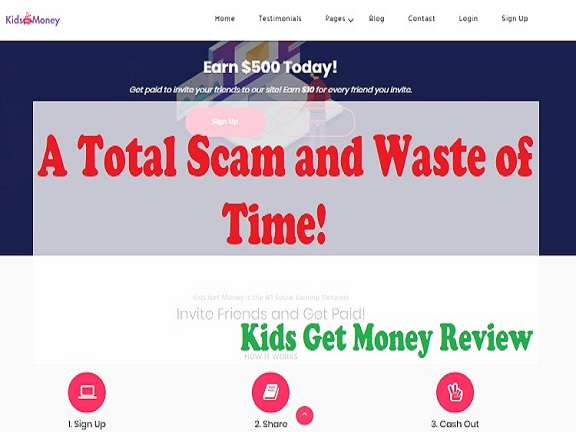 Kids Get money Review feature