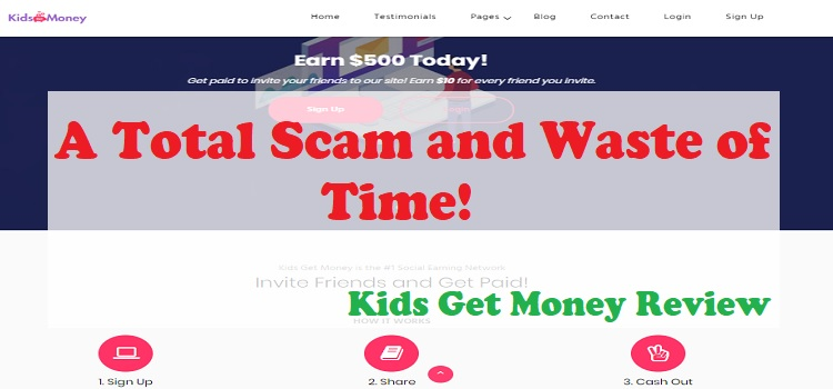 Kids Get Money Review - Total Scam! Don't Waste Your Time