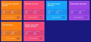 Surveytime surveys