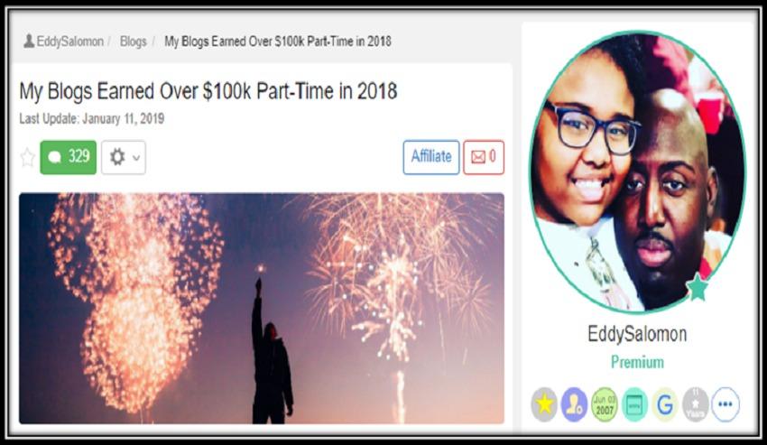 Eddy success story