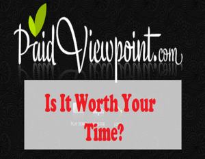 Is PaidViewpoint Scam