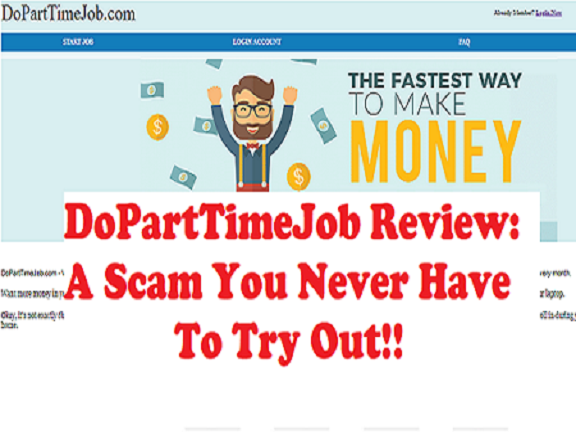 DoPartTimeJob review a scam or waste of time