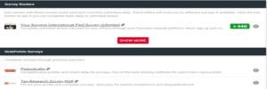 GrabPoints paid surveys