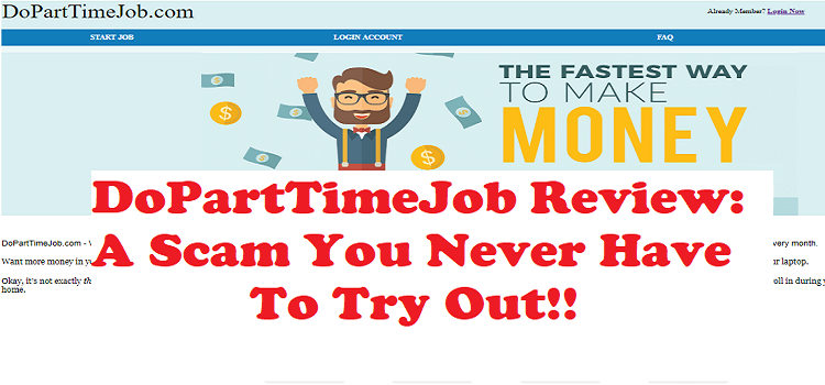 Is DoPartTimeJob a scam or legit
