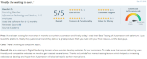 LambdaTest user satisfaction software delivers