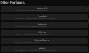 Rewards1 offer partners