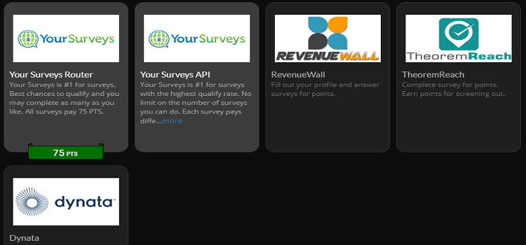 Rewards1 paid surveys