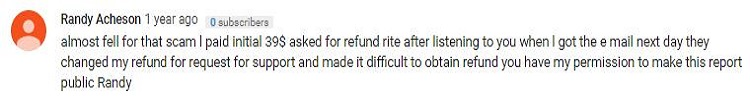 Take Surveys for cash complaint of refund