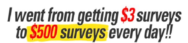 Take Surveys for cash payment lies