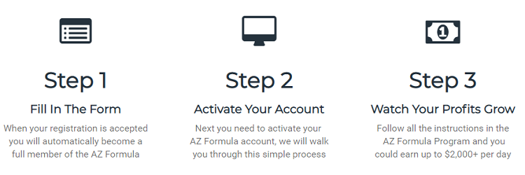 AZ Formula Review sign up