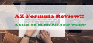 Is the AZ Formula a scam