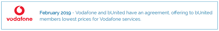 bUnited vodafone partnering