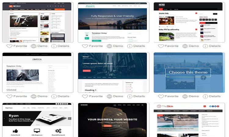 create free website theme