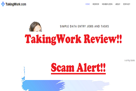is Taking Work scam