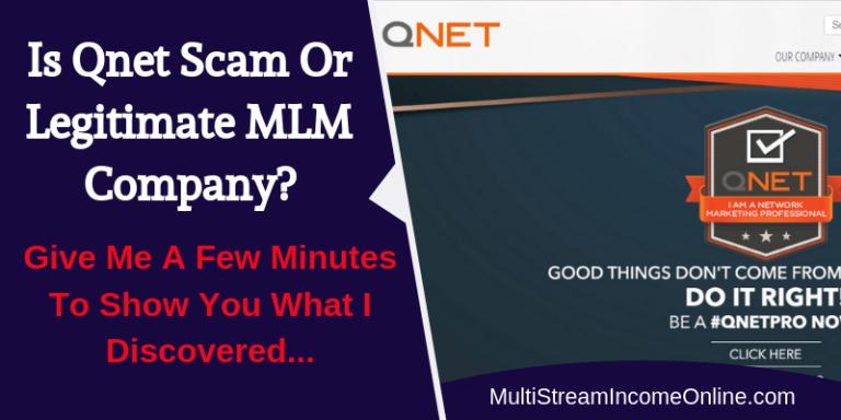 Is Qnet Scam or legitimate Company