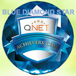 Qnet blue diamond star