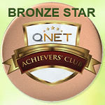 Qnet bronze star