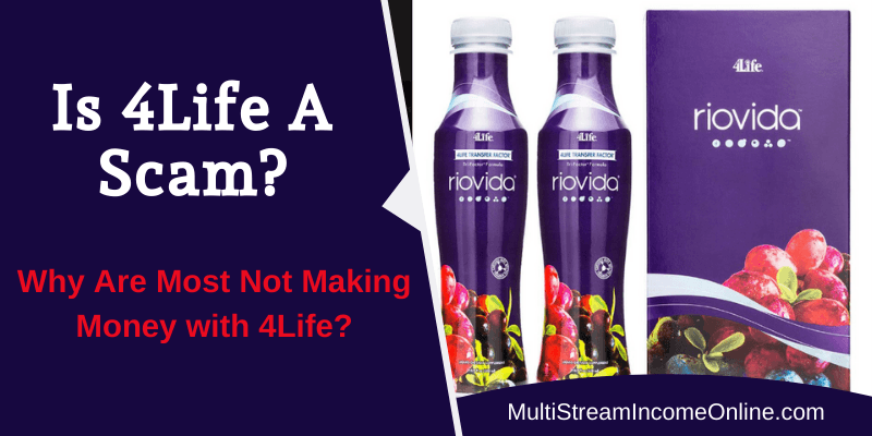 is 4life a scam or a legitimate company