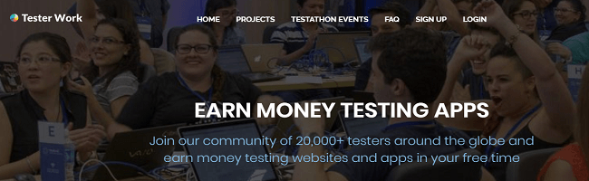 number of people making tester work community