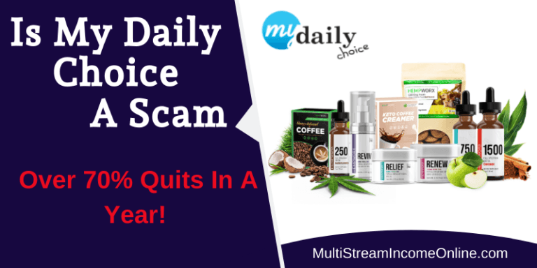 Is MyDailyChoice A Scam, a review