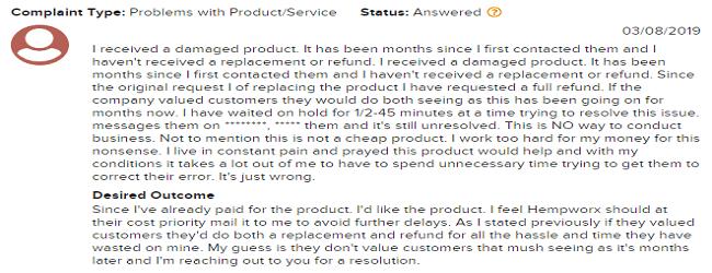 MyDailyChoice service complaints