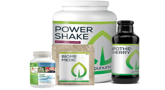 Purium daily nutrition package