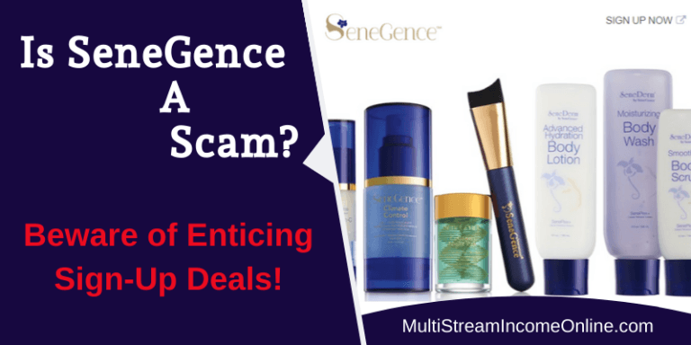 Is SeneGence a Scam or legit