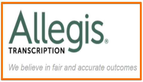 Allegis Transcription job for remote work at home