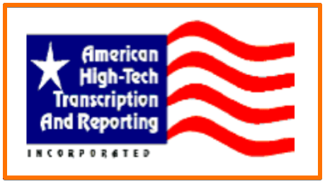 American High-Tech Transcription & Reporting transcript remote work at home