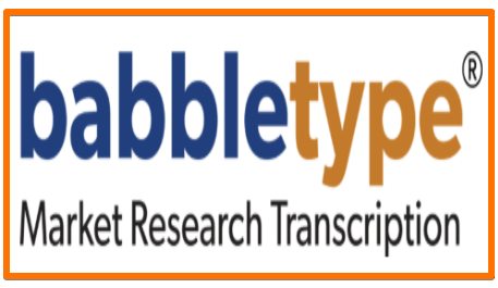 Babbletype transcription job for remote work at home