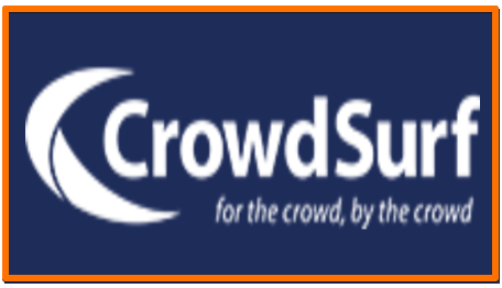 CrowdSurf transcription jobs to work from home