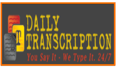 Daily Transcription jobs for remote work at home