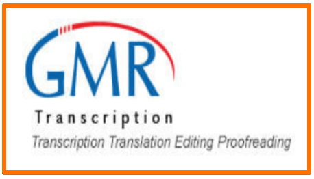 GMR Transcription jobs for remote work at home