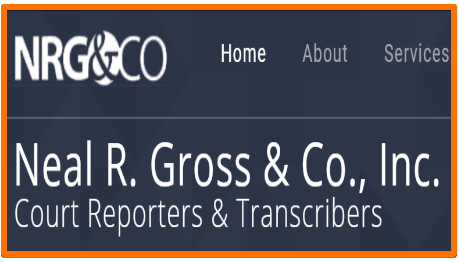 Neal R Gross transcription jobs for remote work at home