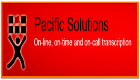Pacific Solutions transcription Application remote work from home