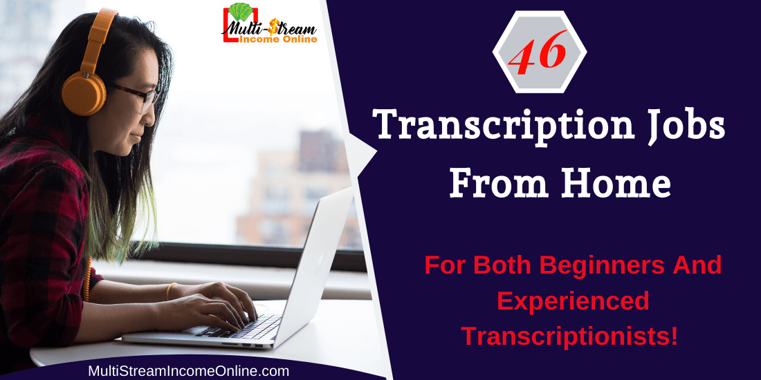Work remotely at home doing transcription jobs online