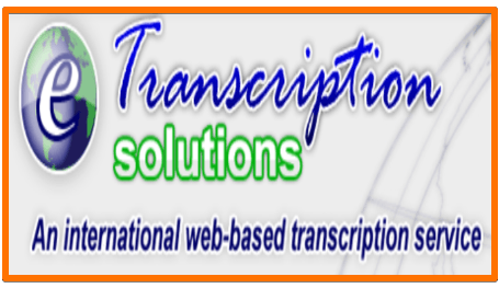eTranscription Solutions transcription job remote work from home