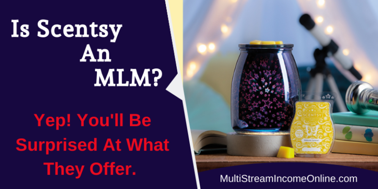 Is Scentsy an mlm company or not