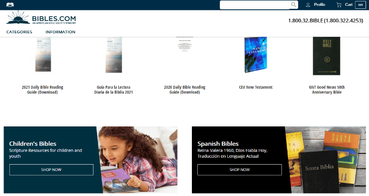 American Bible Society Affiliate Program for Christians