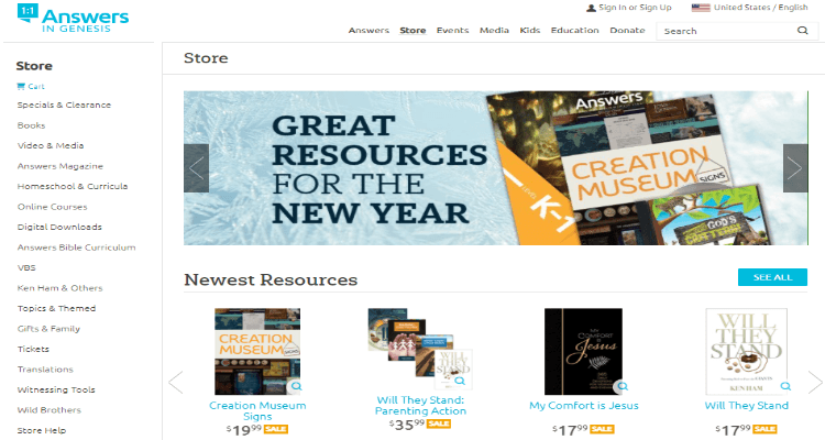 Answers in Genesis Affiliate Program for Christian Bloggers