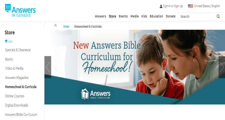 Answers in Genesis Affiliate Program for homeschooling bloggers